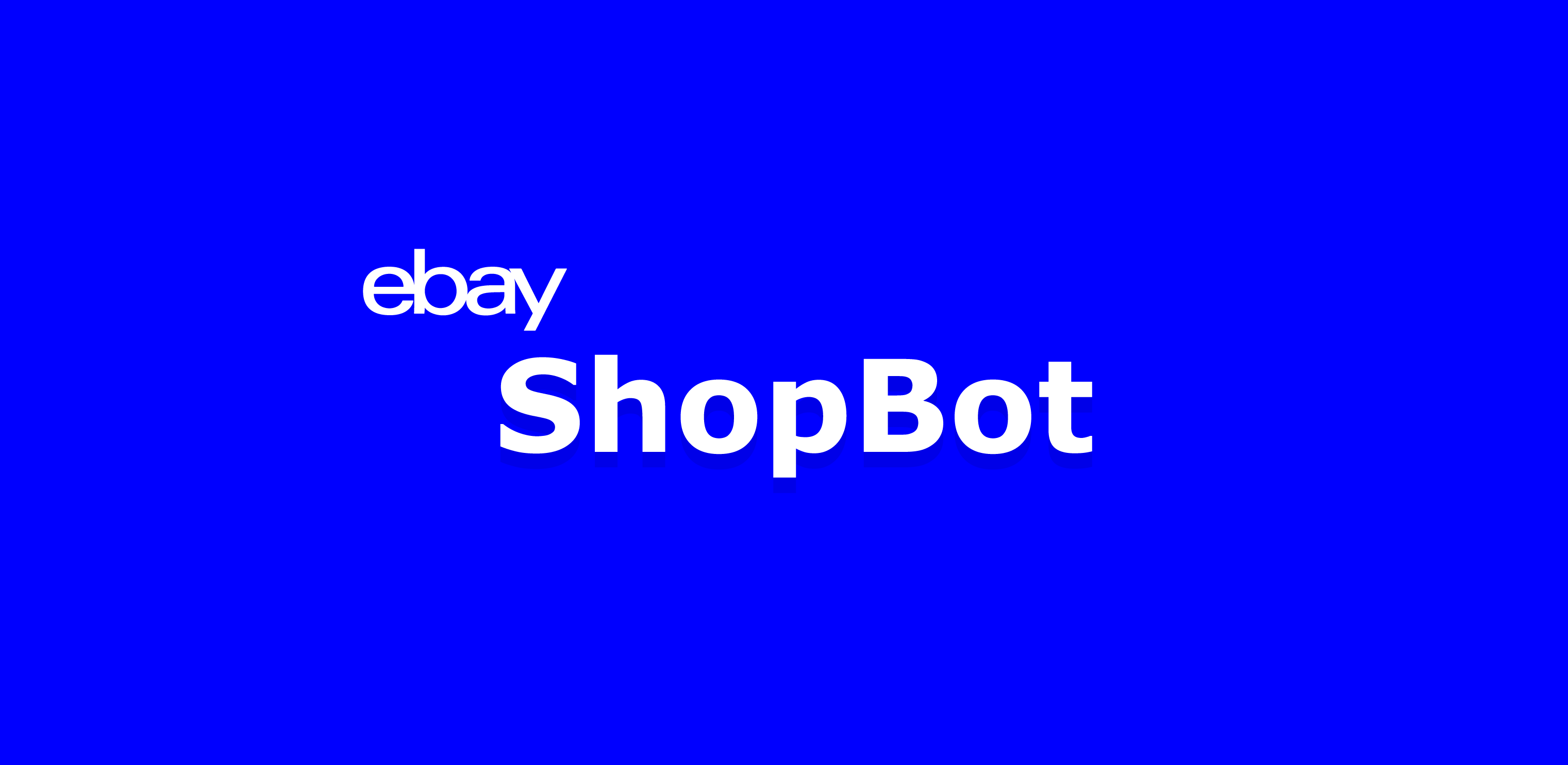 Header image for eBay project